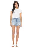 Cut-Off Denim Shorts