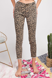 On The Prowl Leopard Print Jeans