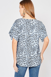 Wild One Cheetah Print Top