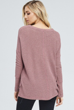The Roads Traveled Waffle Knit Top
