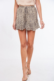 Wild But Sweet Leopard Print Shorts