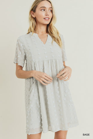 Swiss Dot Pocket dress