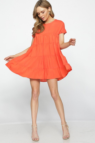 Sunkissed Ruffle Dress
