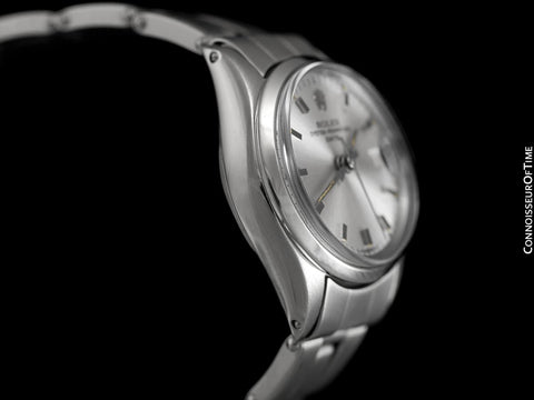 1961 Rolex Classic Vintage Ladies Date Datejust Watch, Silver Dial - Stainless Steel
