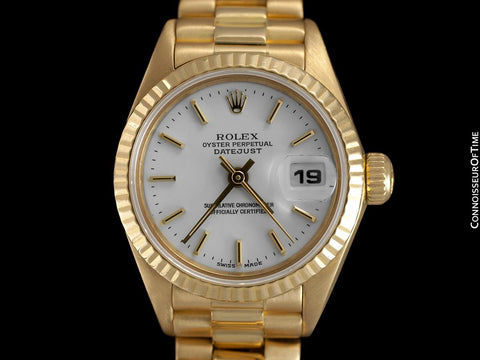 Rolex Ladies President Datejust, 69178 - 18K Gold