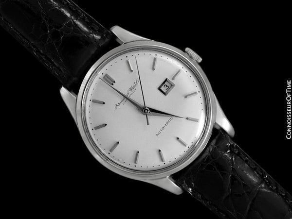 1962 IWC Vintage Mens Watch, Cal. 8531 Automatic with Date - Stainless Steel