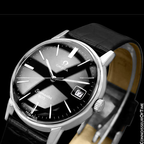 1966 Omega Seamaster 600 Vintage Mens Handwound Watch - Stainless Steel