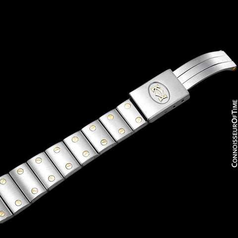 Cartier Santos Galbee Ladies Two-Tone Watch - Stainless Steel and 18K Gold
