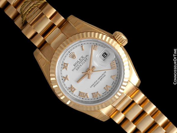 Rolex President Datejust Ladies 18K Rose Gold 179175 Watch, $26,150 - Brand New & Unworn