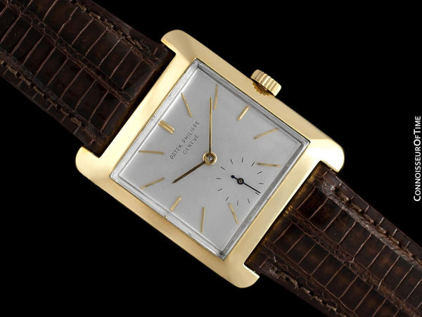 1950's Patek Philippe Vintage Mens Handwound Watch, Ref. 2488 - 18K Gold