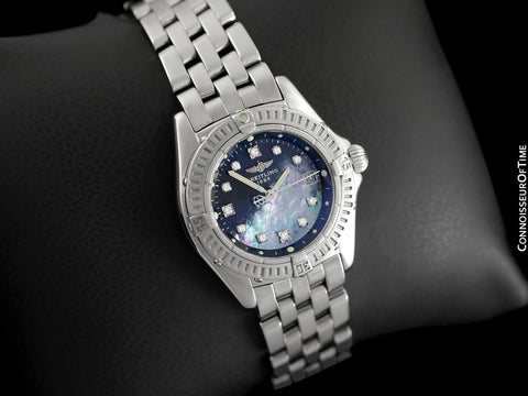 Breitling Windrider Callistino Ladies Watch with MOP & Diamond Dial - A72345