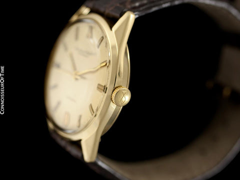 1964 IWC Vintage Full Size Mens Watch, Cal. 854 Automatic - 18K Gold