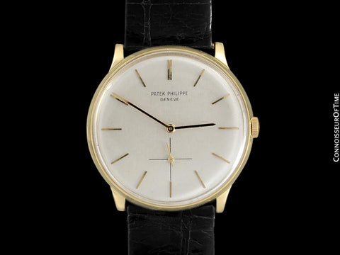 1962 Patek Philippe Vintage Mens Handwound Watch, Ref. 2573 - 18K Gold