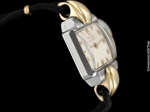 1946 Rolex Vintage Ladies Dress Watch - Two-Tone Stainless Steel & 14K Gold