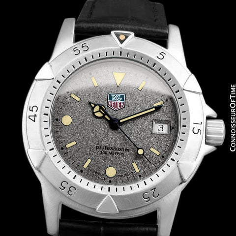 TAG Heuer Professional 1500 Mens Divers Granite Dial Watch - Stainless Steel - WD1211-K-20