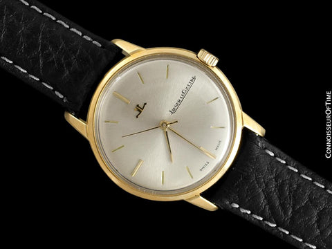 1964 Jaeger-LeCoultre Vintage Mens Cal. 819 Waterproof Style Watch - 18K Gold
