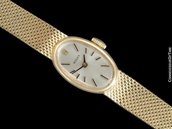 1974 Rolex Ladies Vintage Pre-Cellini 14K Bracelet Gold Watch - Mint with Warranty