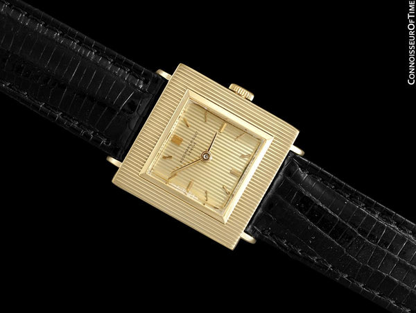 1960 Audemars Piguet Vintage Mens Unisex Modernist Cal. 2001 Dress Watch - 18K Gold