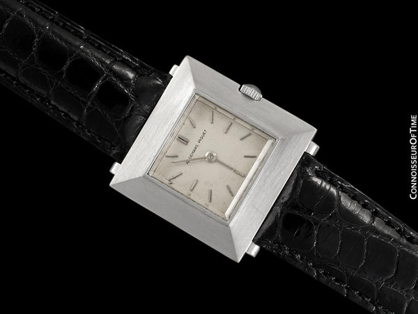 1960's Audemars Piguet Vintage Mens Unisex Modernist Cal. 2003 Ultra Thin Watch - 18K White Gold