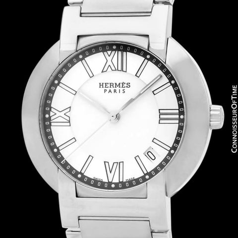 Hermes Nomade Mens Unisex Automatic Quartz Watch - Stainless Steel