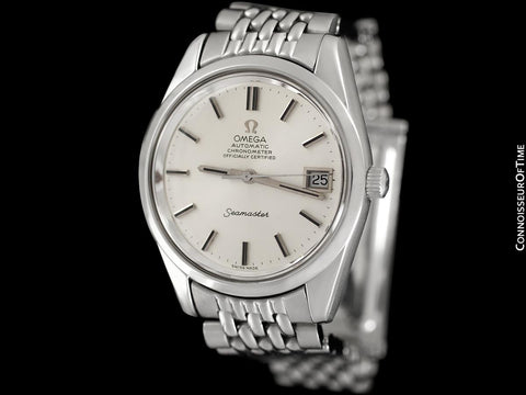 1972 Omega Seamaster Chronometer Vintage Mens Cal. 1011 Watch - Stainless Steel