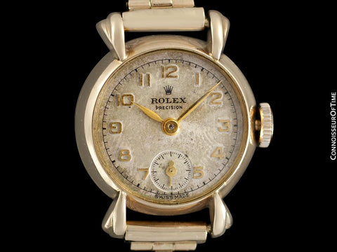 1947 Rolex Vintage Ladies Dress Watch - 18K Gold