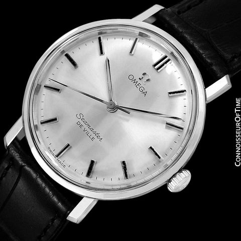 1964 Omega Seamaster Vintage Mens Handwound Watch - Stainless Steel