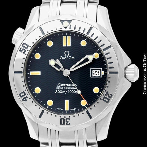 Omega Seamaster Midsize 300M (James Bond Style) Professional Diver, Stainless Steel - 2562.80.00