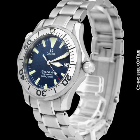 Omega Seamaster Midsize 300M Professional Divers (James Bond Style) Watch, Stainless Steel - 2263.80.00