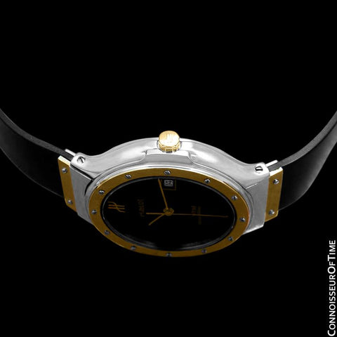 Hublot MDM Two-Tone Midsize Mens Watch - Stainless Steel & 18K Gold
