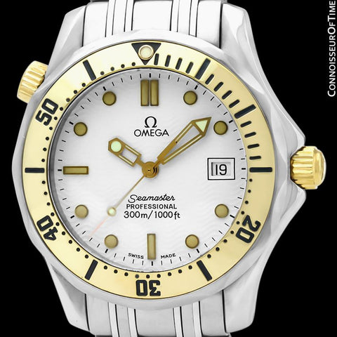 Omega Seamaster Midsize 300M Professional Diver (James Bond) - Stainless Steel & 18K Gold