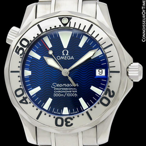 Omega Seamaster Midsize 300M Professional Divers Automatic Chronometer Watch, Stainless Steel - 2253.80.00