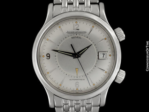 Jaeger-LeCoultre Memovox Reveil Master Control Mens Watch, Stainless Steel - Q141897