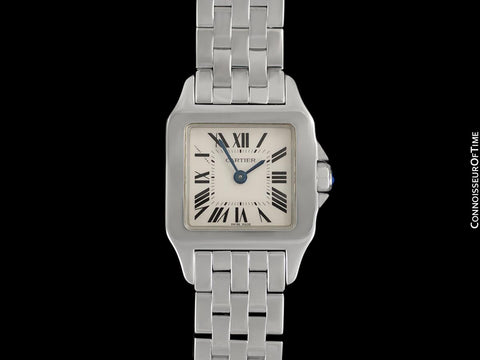 Cartier Santos Demoiselle Ladies Bracelet Watch, Ref. W25064Z5 - Stainless Steel
