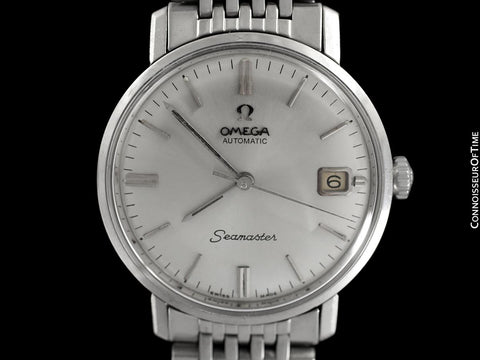 1967 Omega Seamaster De Ville Vintage Mens Cal. 560 Watch, Automatic, Date - Stainless Steel