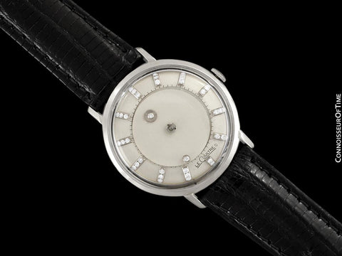 1963 Jaeger-LeCoultre Vintage Galaxy Mystery Dial - 14K White Gold & Diamonds