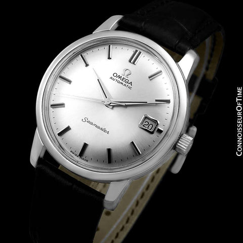 1966 Omega Seamaster Mens Vintage Full Size Watch with 562 Movement, Automatic, Date - Stainless Steel