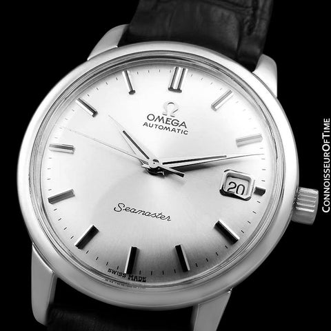 1964 Omega Seamaster Mens Vintage Watch with 562 Movement, Automatic, Date - Stainless Steel