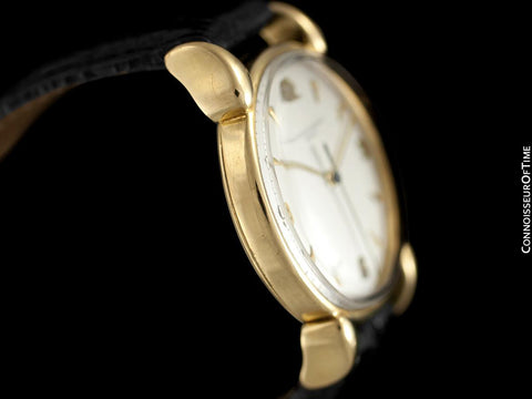 1942 Vacheron & Constantin Vintage Mens Watch with Bear Claw Lugs - 18K Gold