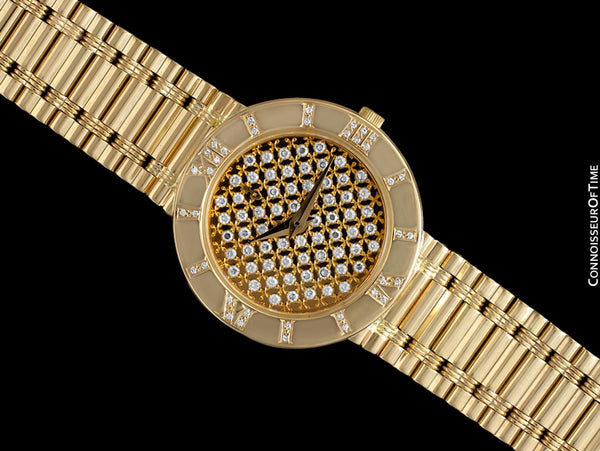 Corum Romvlvs Romulus Ladies Luxury Bracelet Watch - 18K Gold & Diamonds