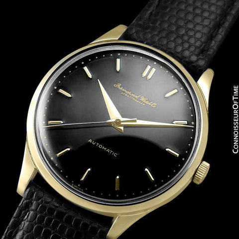1960 IWC Vintage Mens Full Size Watch, Cal. 853 Automatic - 18K Gold