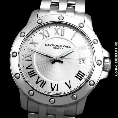 Raymond Weil Tango Mens 41mm Watch, Ref. 5599 - Stainless Steel