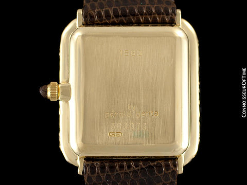 Gerald Genta Concord Mens Vintage Bark Watch (Designer of Audemars Piguet Royal Oak) - Multicolor 18K Gold