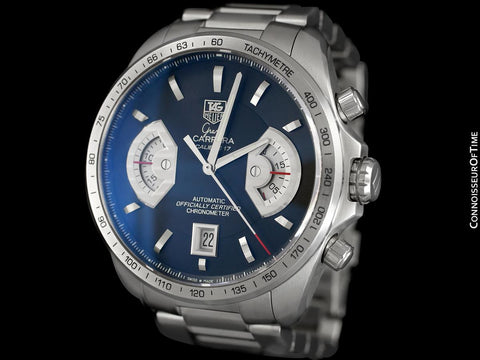 TAG Heuer Grand Carrera Mens Watch, Automatic, Stainless Steel - CAV511A