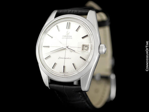 1967 Omega Seamaster Mens Vintage Cal. 562 Watch, Automatic, Date - Stainless Steel