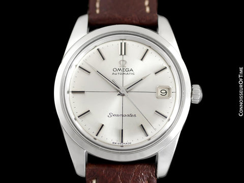 1966 Omega Seamaster Mens Vintage Cal. 562 Watch, Automatic, Date - Stainless Steel
