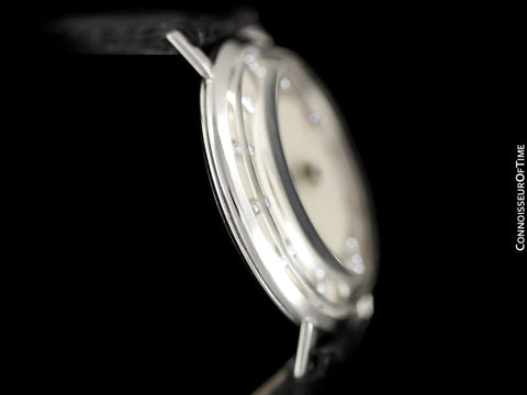 1958 Jaeger-LeCoultre Vintage Galaxy Mystery Dial - 14K White Gold & Diamonds