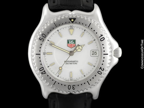 TAG Heuer SEL Sport Elegant Automatic Mens Full Size Divers Watch, WI 2110 - Stainless Steel
