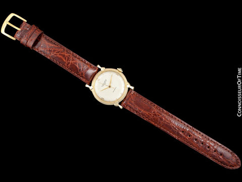 1950's Ulysse Nardin Vintage Mens Automatic Chronometer Watch - 14K Gold