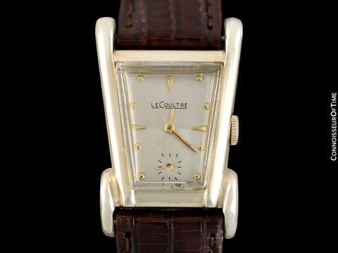 1951 LeCoultre Vintage Mens Watch, Rare Case, 10K Gold Filled, Grasshopper - The Aristocrat